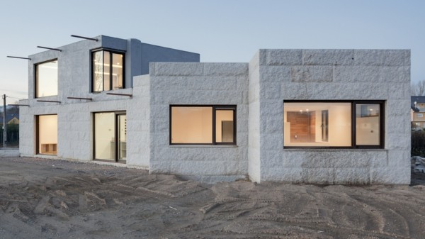 Granitplatten Fassadenplatten Design süden