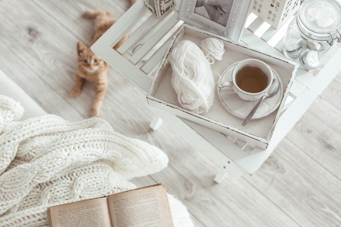 Guten Morgen häusliche Atmosphäre
