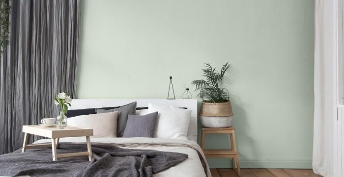 Guten Morgen ordentliches Schlafzimme