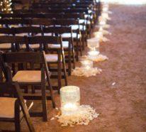 Hochzeitskerze selber machen: 50+ inspirierende Ideen