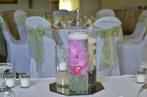 Hochzeitskerzen selber machen Ideen