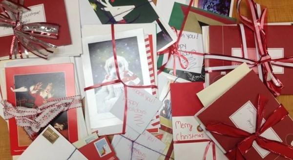 Ideen mit Herz Christmas Karten