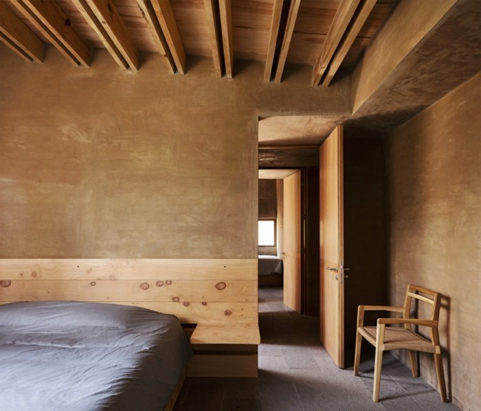 Innengestaltung Einsicht moderne Architektur