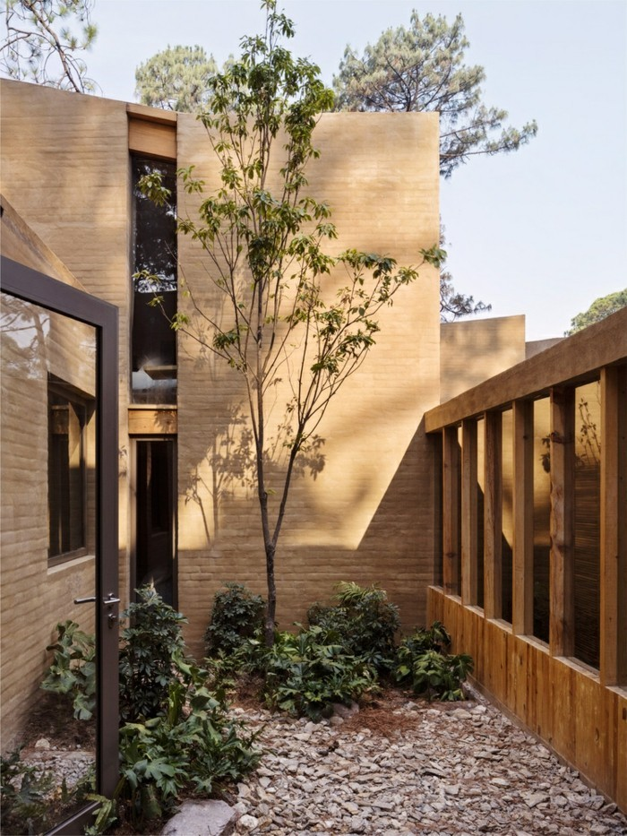 Innenhof moderne Häuser Inspiration