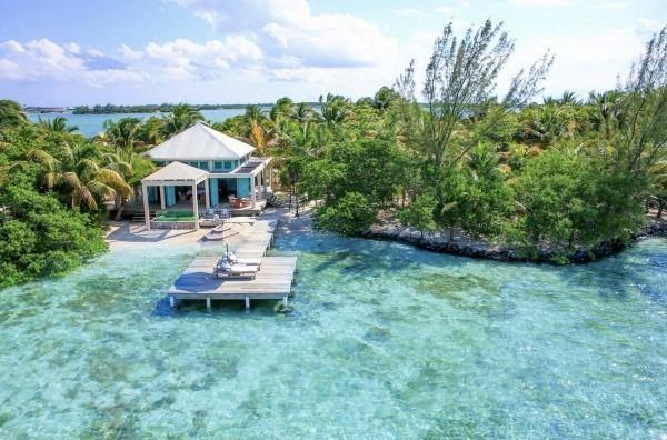 Insel Cayo Espanto