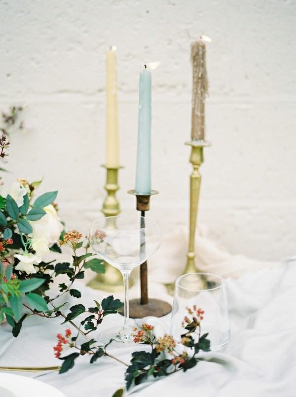 Kerzen in drei verschiedenen farben selber machen