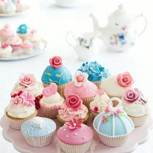 Kinderparty deko geburtstag Cupcake Teller