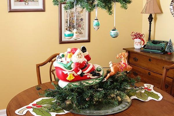 Klassischer Weihnachtsschmuck Ideen mit Herz