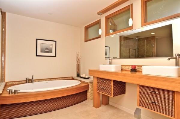 Modernes Badezimmer Komfort Relax ideen