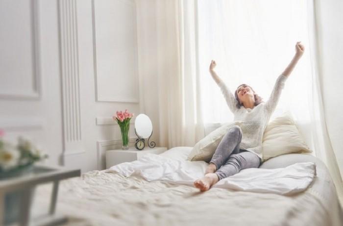Morgens länger im Bett