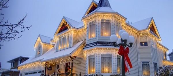 Haus Weihnachtsbeleuchtung.Weihnachtsbeleuchtung Aussen Lassen Sie Haus Und Garten