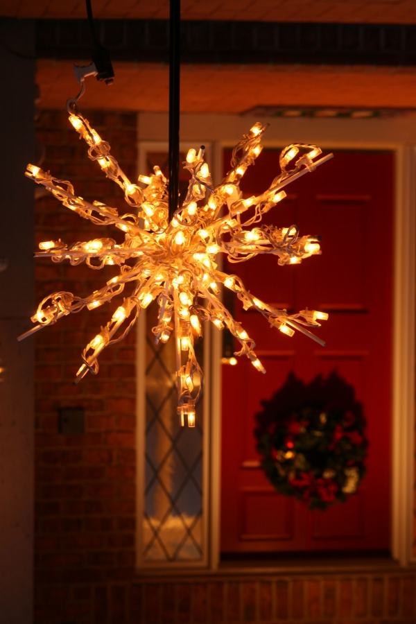 Outdoor Weihnachtsbeleuchtung