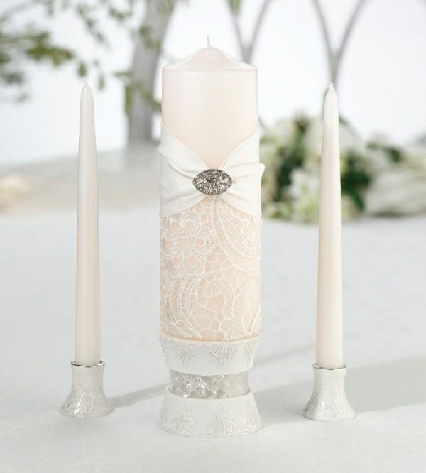 Pastell-Schattierungen Kerzen gestalten