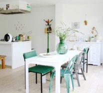 Fünf Vorteile, die Pastellgrün fürs Innendesign mit sich bringt