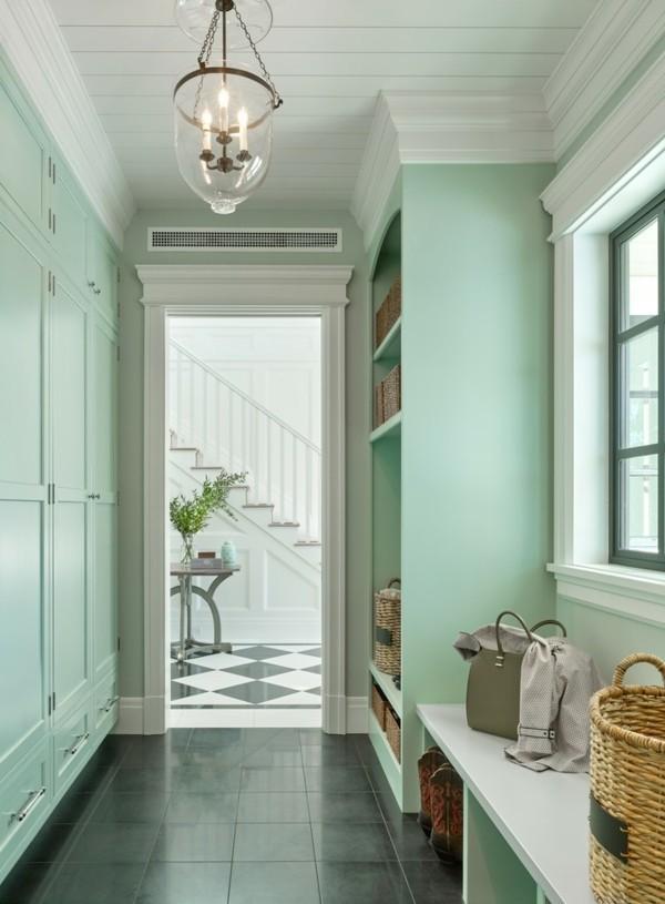 Flurgestaltung Grün fünf vorteile die pastellgrün fürs innendesign mit sich bringt