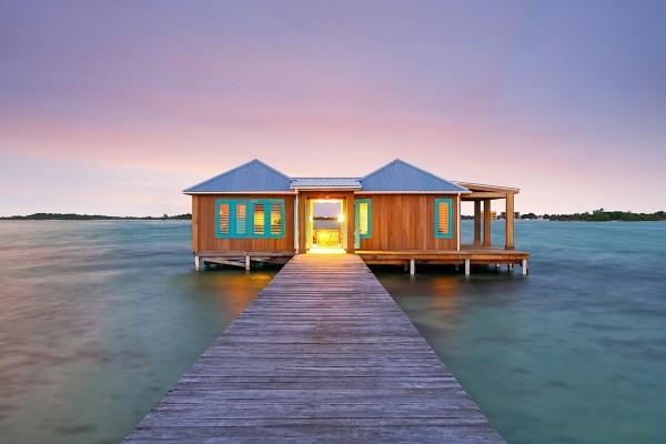Private Insel Cayo Espanto schönes Badewetter garantiert