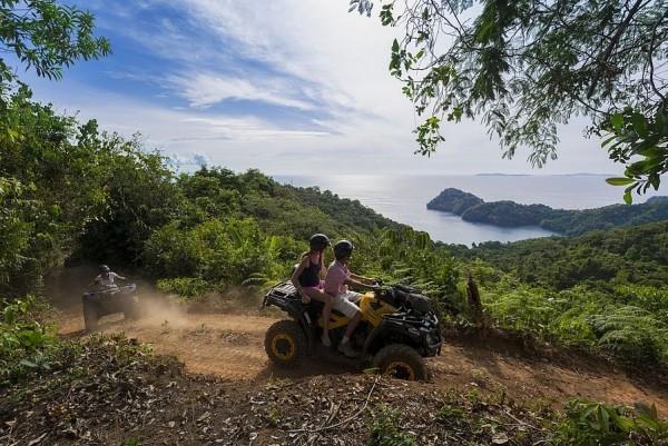 Safari Fahrt Trauminseln richtiger Urlaubsort Abenteurer Entdecker
