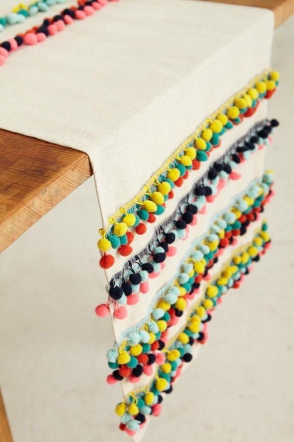 Tischdecken Ideen ethnischer Stil