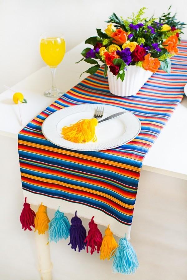 Tischläufer diy ideen nähen