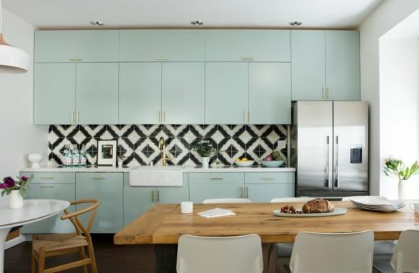 Tolle Küchenwand Pastellgrün Inneneinrichtung