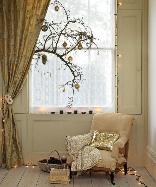 Weihnachtsbeleuchtung Fensterdekoration