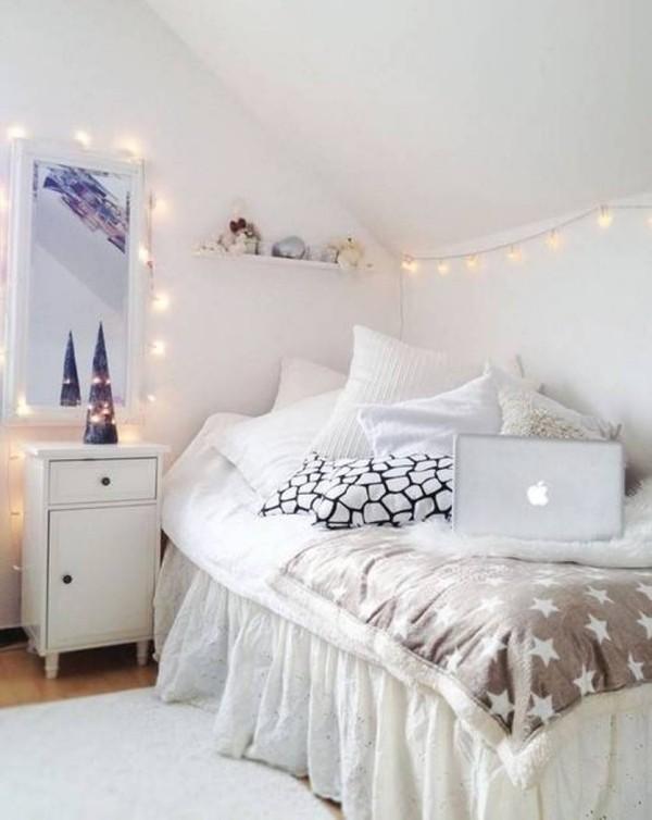 Weihnachtsbeleuchtung Jugendzimmer ideen