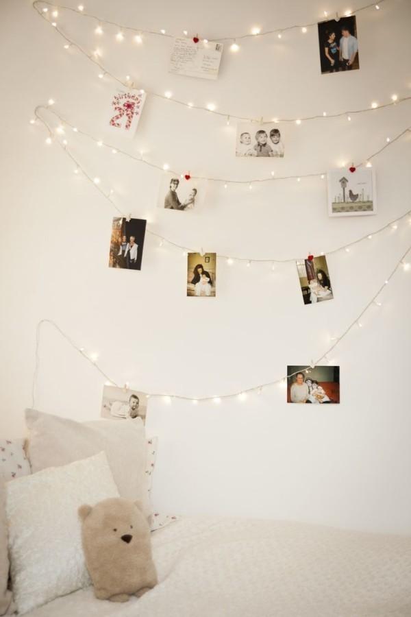 Weihnachtsbeleuchtung Jugendzimmer