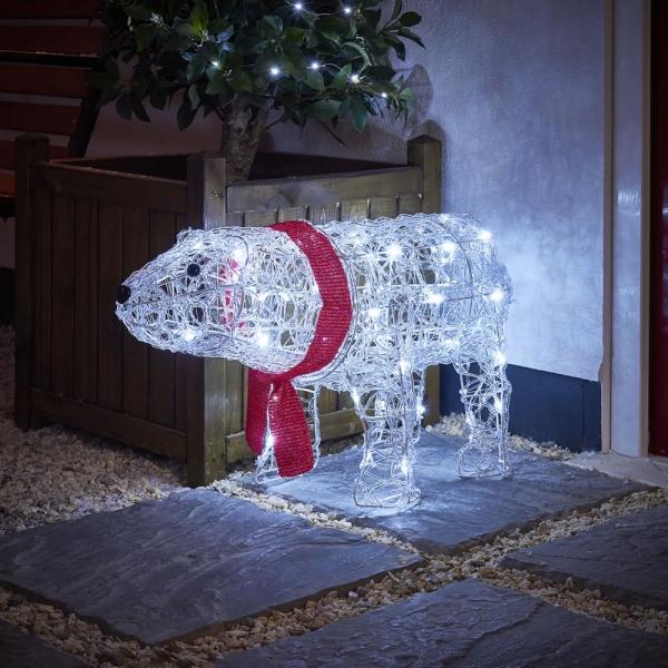 Weihnachtsbeleuchtung aussen und innen