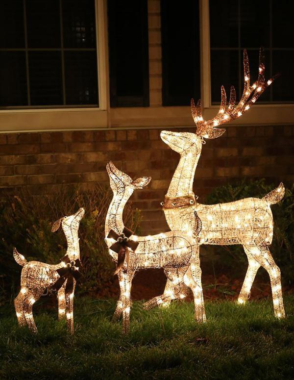 Weihnachtsbeleuchtung für Draussen ideen
