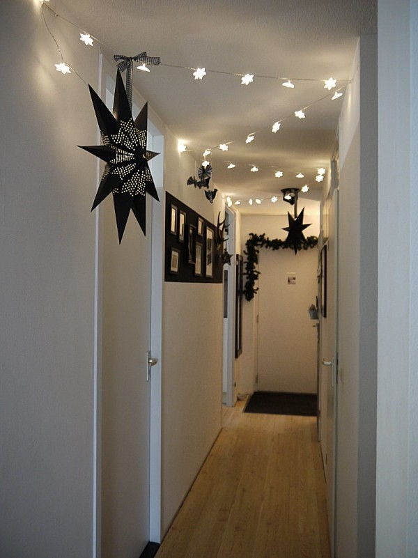 Weihnachtsdeko Weihnachtsbeleuchtung Flur