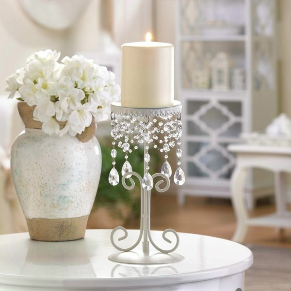 Wunderschöne Hochzeitsdeko mit Kerze selber machen