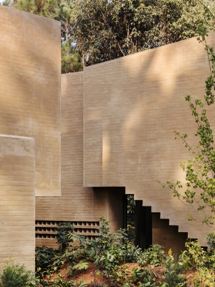 Zwischenraum moderne Häuser Gestaltung
