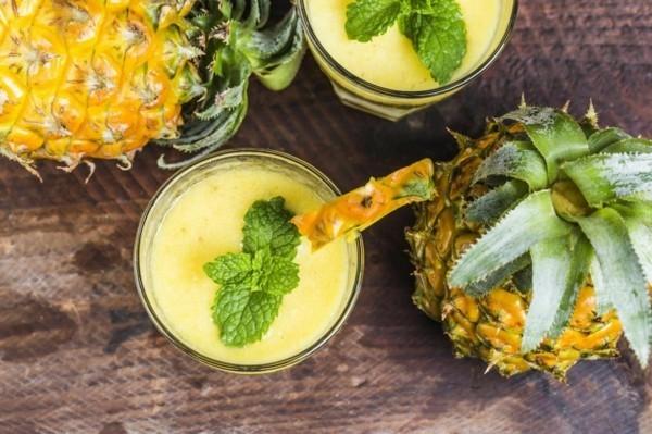 ananas smoothie fatburner rezepte