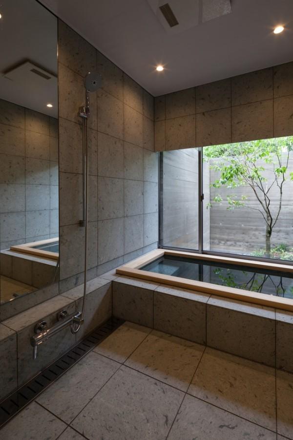 asiatisch stil feng shui einrichtung badezimmer