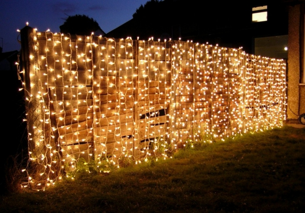 attraktiv Weihnachtsbeleuchtung außen