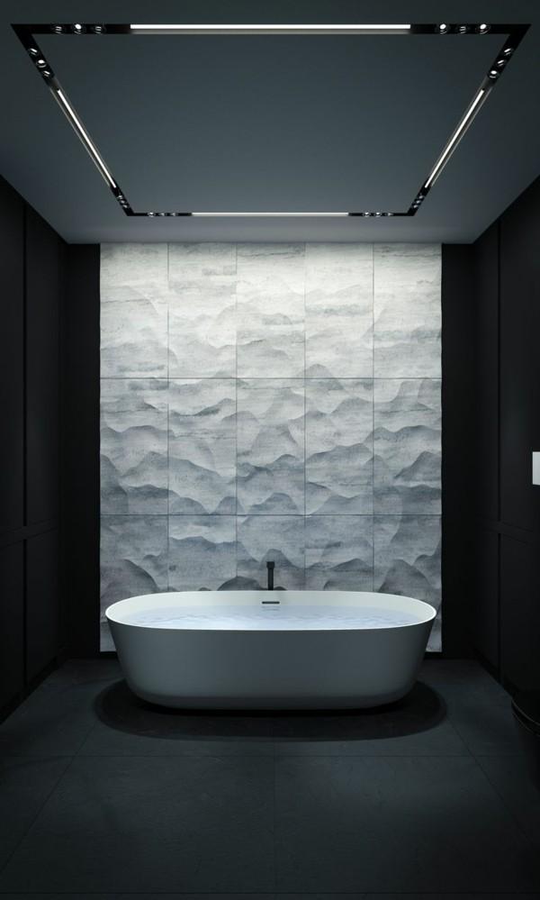 badezimmer ideen akzentfläche