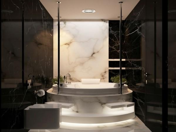 badezimmer ideen mit marmor
