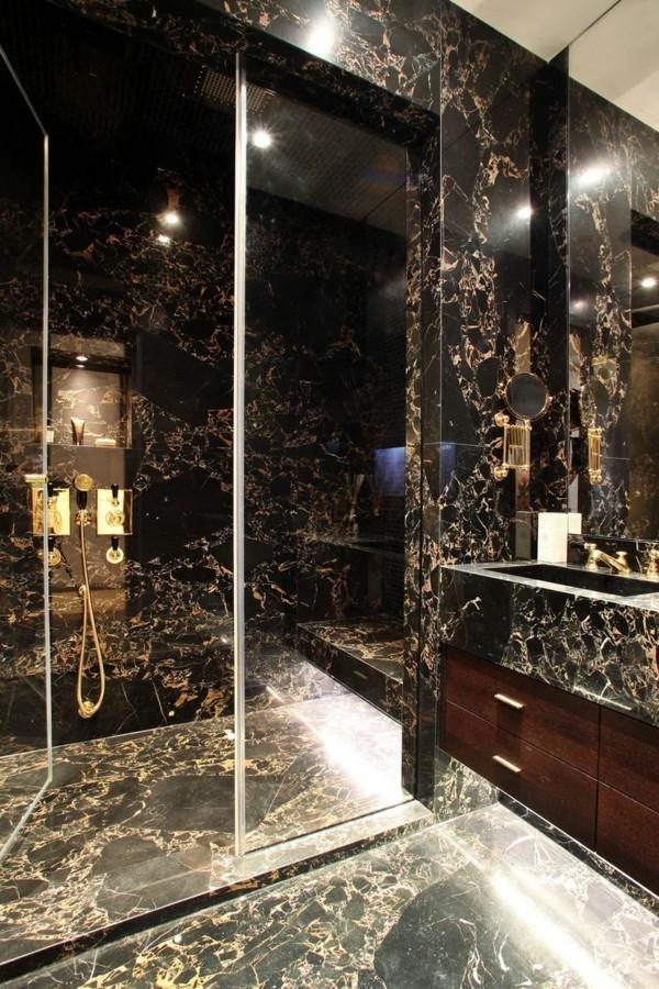 badezimmer ideen mit viel glas