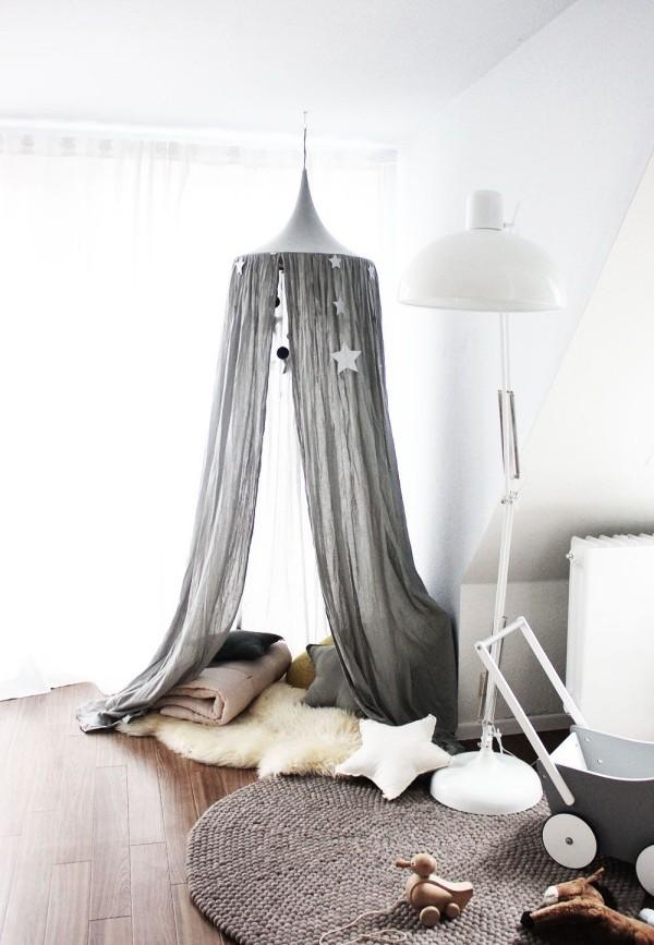 baldachin im kinderzimmer 42 ideen wie sie das. Black Bedroom Furniture Sets. Home Design Ideas