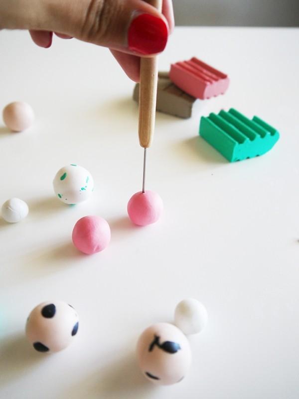 Basteln mit fimo originelle und einfache ideen zum nachmachen - Fotoideen zum nachmachen ...