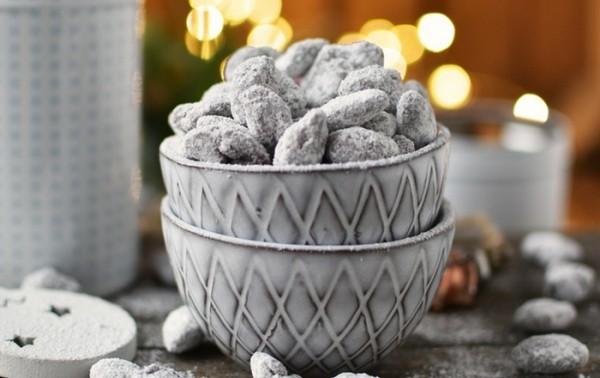 bonbons und pralinen zubereiten mit puderzucker geschenke aus der küche