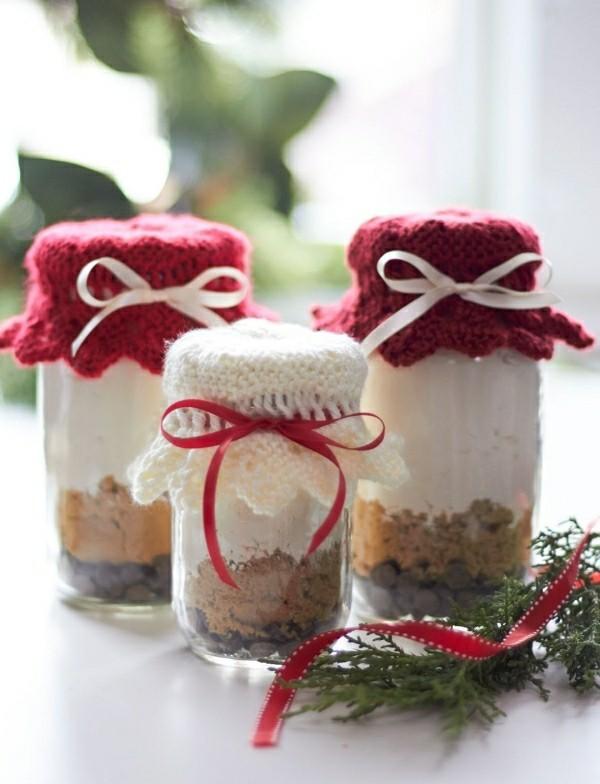 braun weißer Inhalt geschenke aus dem glas weohnachtsgeschenke