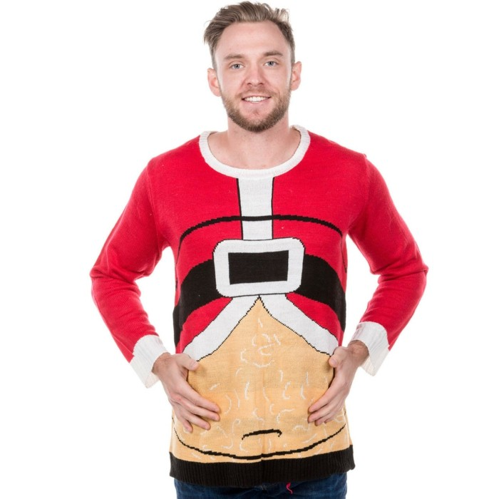christmas sweater bauch