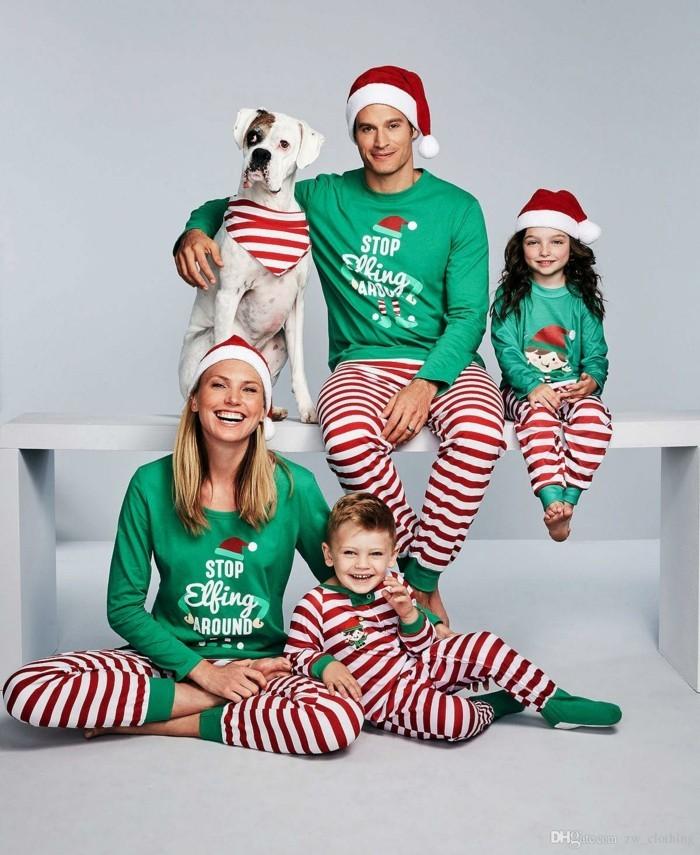 christmas sweater familienbild