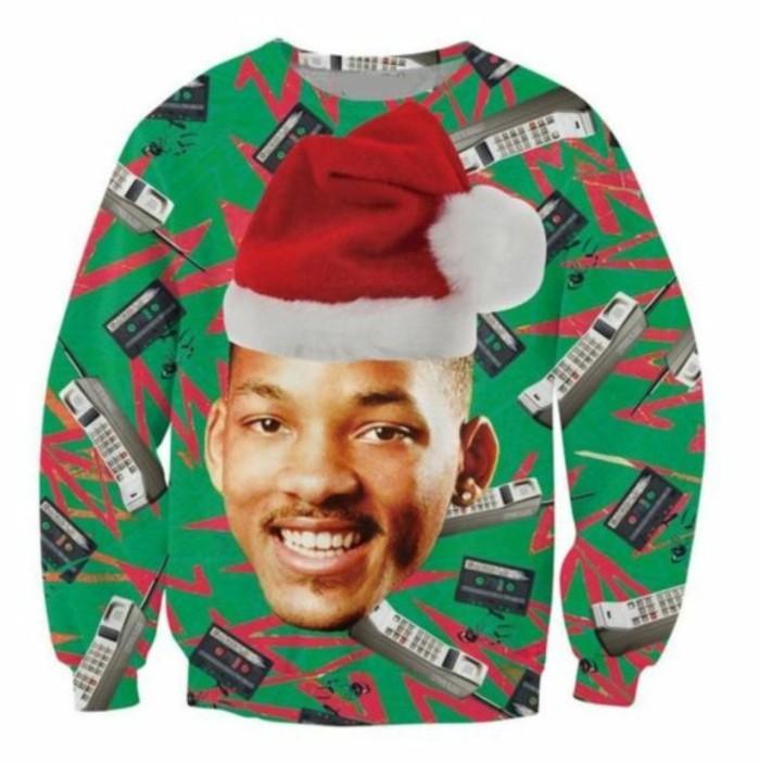 christmas sweater fresh prince