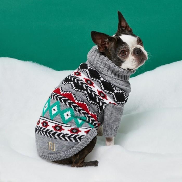 christmas sweater hundepulli