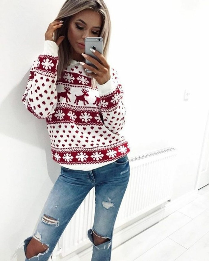 christmas sweater sexy