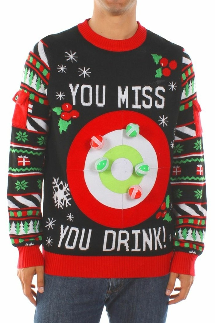 christmas sweater spiel