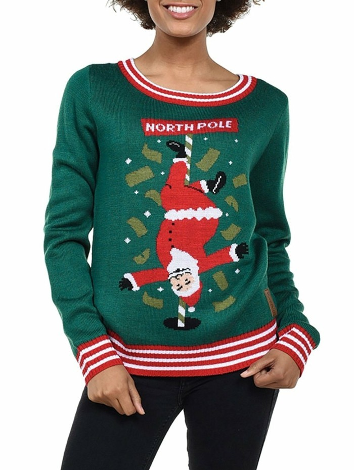 christmas sweater stange