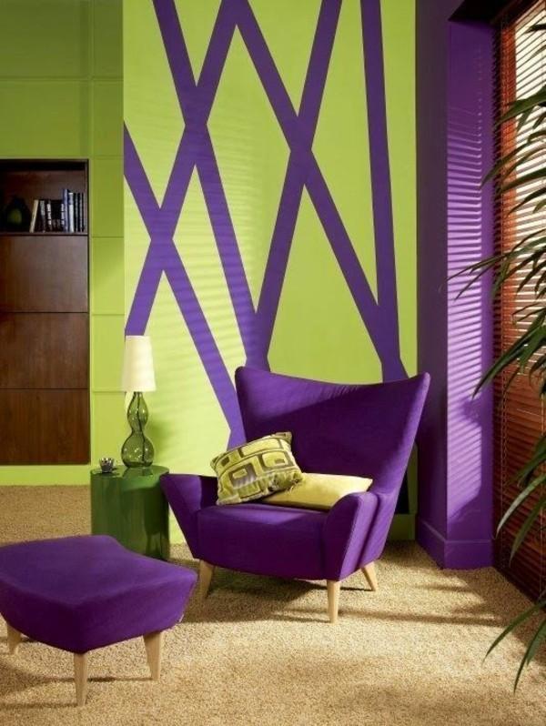 designer möbel ultra violet pantone farbe 2018
